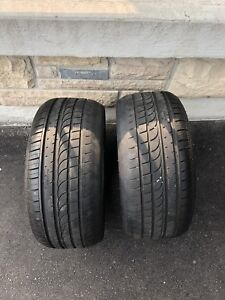 Two Altenzo Sport Comfort+ tires 215/35/18 cheap