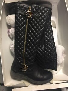 Steve Madden Realityy Black Boots Size 7 Winter