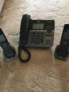 Bell Corded/Cordless Telephone