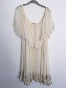 Moving Sell - Anu Embroidered Silk Dress Bondi Eastern Suburbs Preview