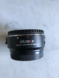 Viltrox EF-NEX IV mount adapter for canon lens to Sony