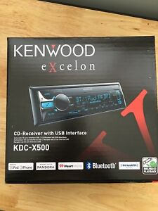 Kenwood Bluetooth and CD player.