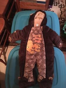 Baby 3-6 mth one piece snow suit