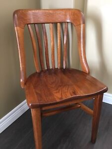 ***Sold***Antique Oak Office Chair.