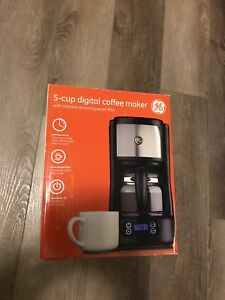 GE 5-cup digital coffee maker