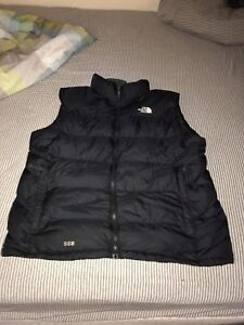 North Face vest XL