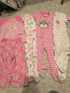 4 pairs of girls pyjamas