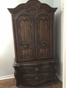Antique wardrobe