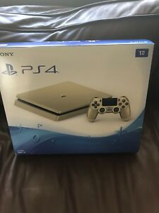 Brand new gold ps4