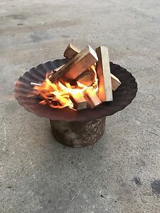 Custom Made Rustic Fire Pit Disc