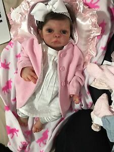 Full body silicone baby reborn doll Melbourne CBD Melbourne City Preview