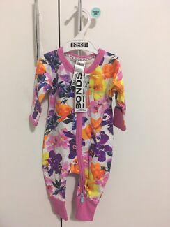Bonds Zippy Wondersuit - NEW floral 0000