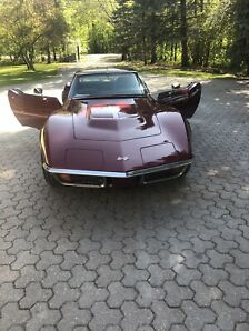 1972 stingray corvette **MATCHING NUMBERS**
