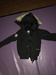 Authentic Boys Canada Goose Winter Jacket, Size Small