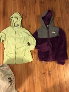 The North Face fleece sweaters