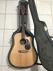 Martin DCX1E solid spruce top acoustic guitar