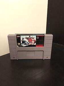 NHL Stanley Cup SNES