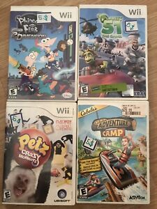 Wii, PS2 & Xbox games