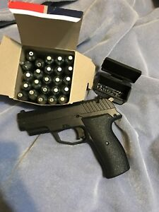 Pellet gun with CO2 cartridges