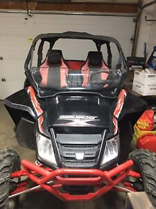 2013.5 wildcat 1000x limited 90+HP trade for sporty car