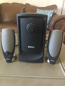 Dell Subwoofer with Dell Speakers