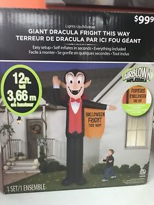 Halloween Inflatables NEW