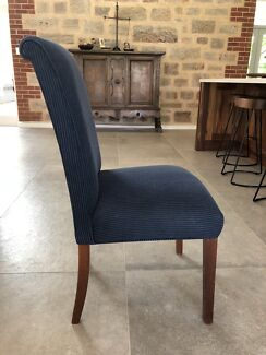 8 Upholstered Dining Room Chairs