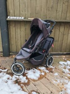 Phil & Ted double stroller for baby and toddler