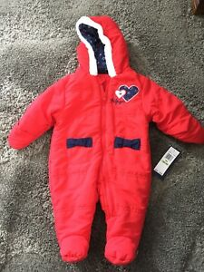 Baby snow suits - see ad for prices