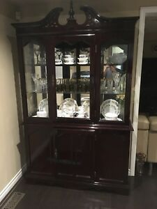 vintage cabinet for cups and plates