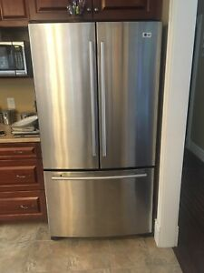 LG Stainless fridge
