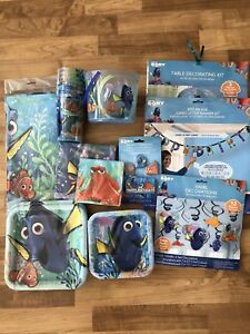 Finding Dory birthday party supplies