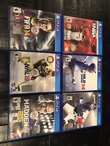 PS4 Sports Games $10