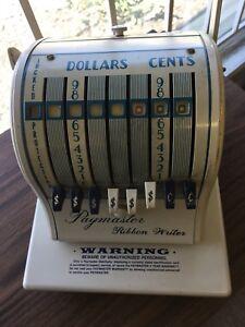Paymaster Ribbon Writer