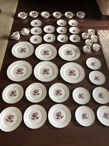 Northumbria Carleton Rose Fine Bone China