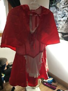 Woman's red riding hood costume