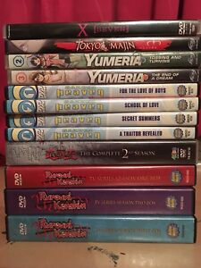 Anime DVDs - Including complete series!