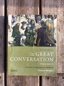 The Great Conversation Textbook