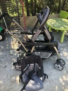 Graco Read2grow Double or sit & stand Stroller