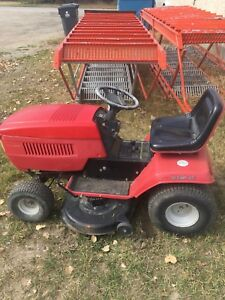 Craftsman lawn tractor with snow blower