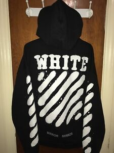 Off-White Diagonal Spray Hoodie