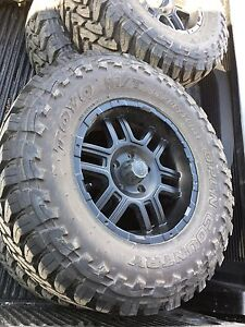 """33 """" Jeep  Wheels and Tires"""