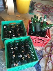 Grolsch beer bottles