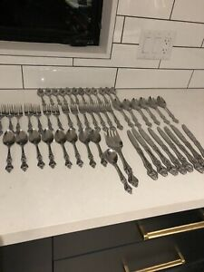 Stainless steel cutlery — $40 all