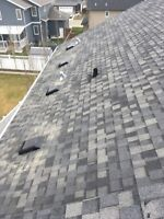 Shingle replacement 10 shingles or less $150