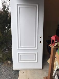 "Fibreglass 36"" entry door"