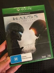 SEALED Halo 5 Guardians + Master Chief Collection for Xbox One Perth Perth City Area Preview