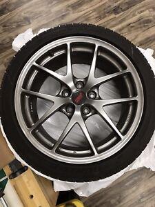 Wrx Sti wheels/rubber
