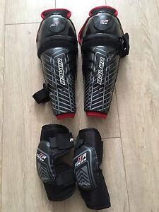 Bauer GT Elbow and Chin Pads for Tyke