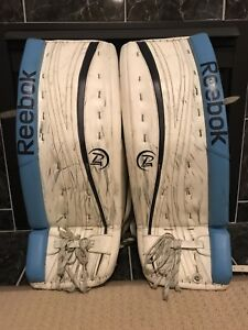 SOLD Pending pick up - 32+1 Senior Pro Reebok P4 Goalie Pads
